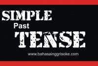 Belajar Bahasa Inggris (Fungsi Dan Jenis Simple Past Tense Beserta Contohnya)
