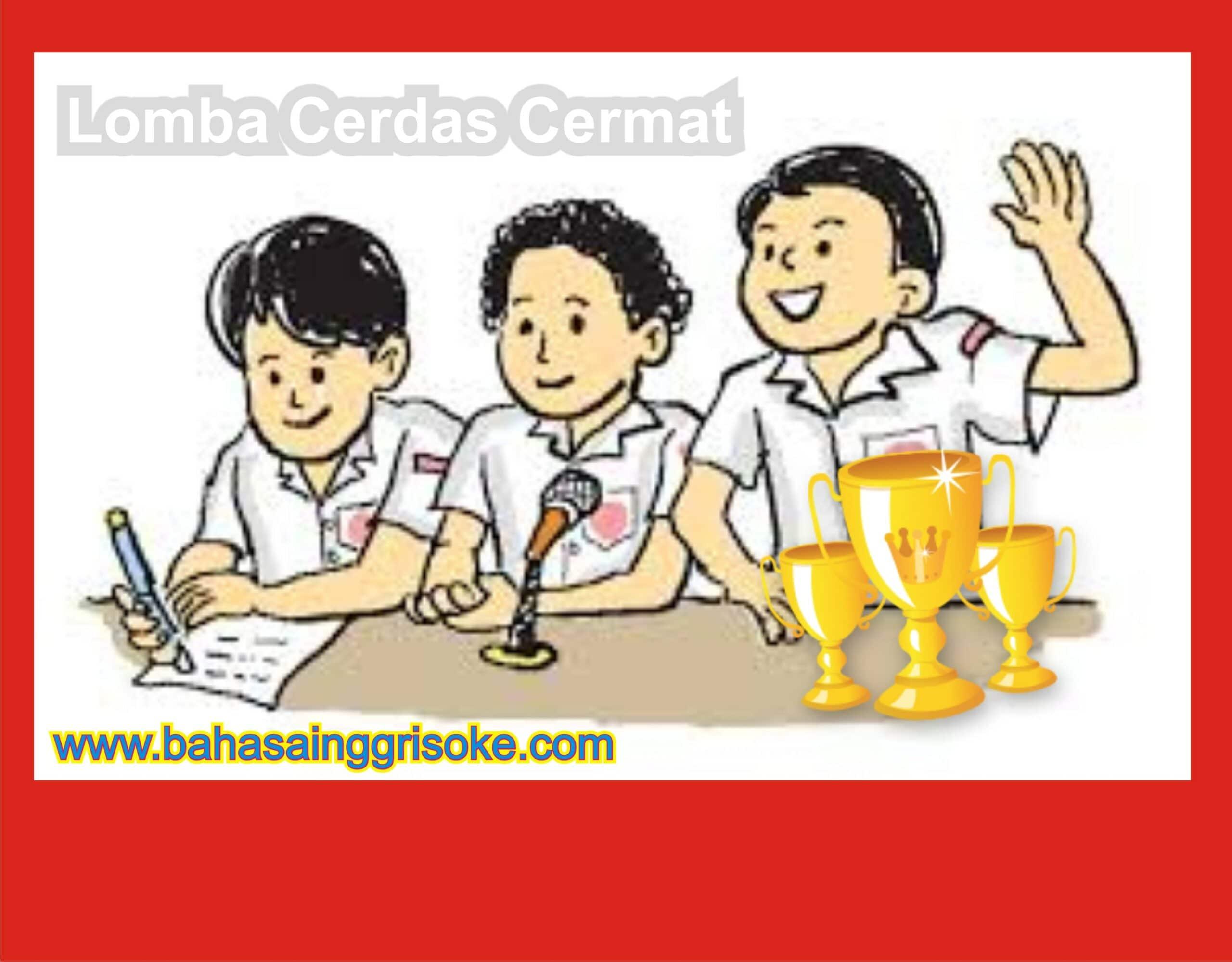 Soal – Soal Bahasa Inggris SMP Terengkap Terbaru ( Versi LCT)