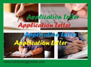 Cara Membuat Surat Lamaran Kerja Dalam Bahasa Inggris Ter Up to Date
