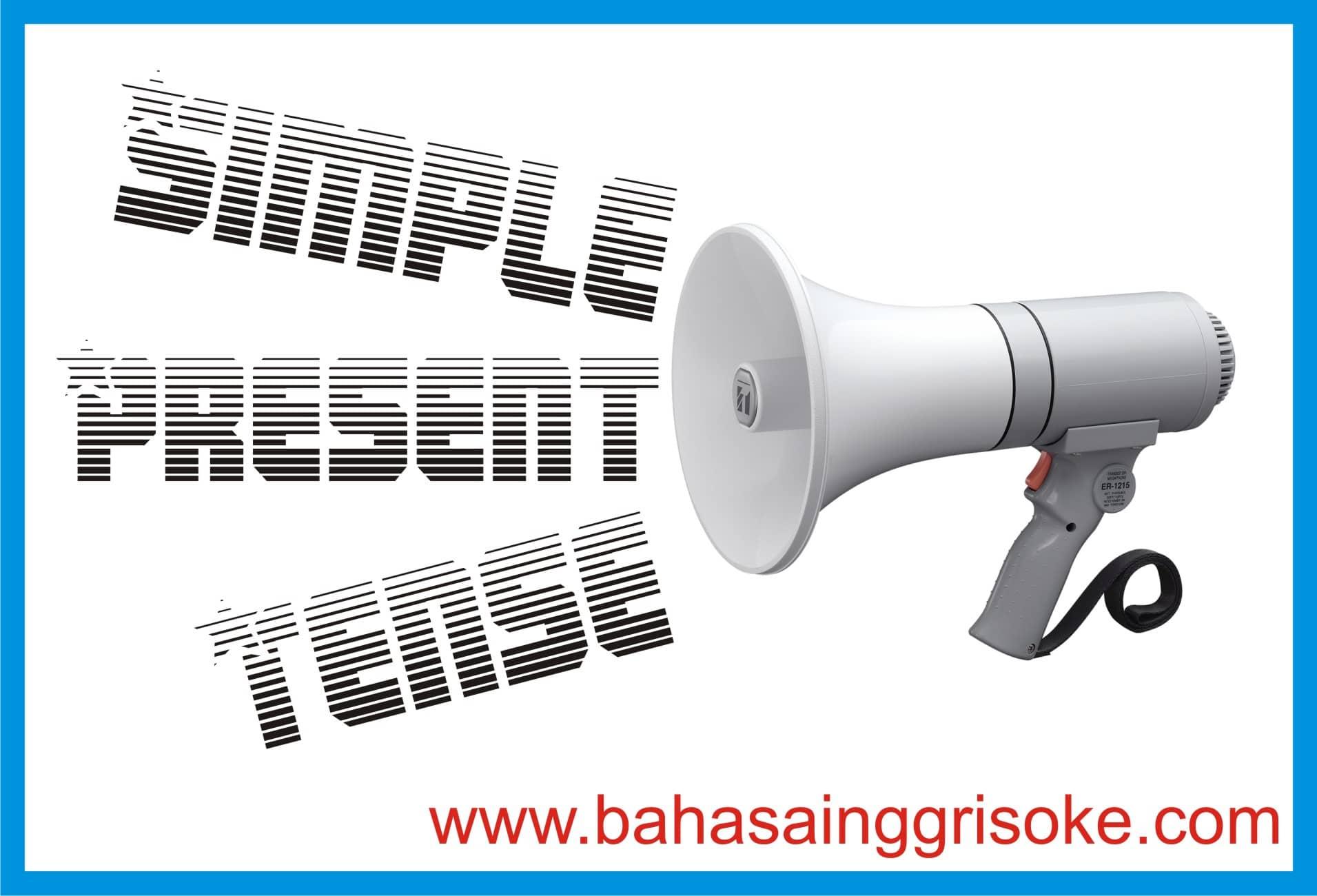 Contoh Kalimat Simple Present Tense Teranyar Dan Fungsinya