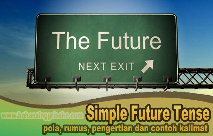Pola dan Kalimat Simple Future Tense