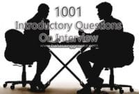 introductory question interview
