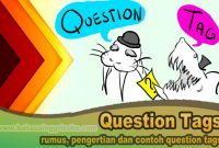 rumus, pengertian dan contoh question tags