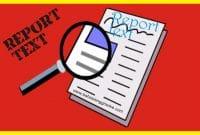 Contoh, Ciri-Ciri, dan Fungsi Report Text dan Perbedaannya dengan Descriptive Text