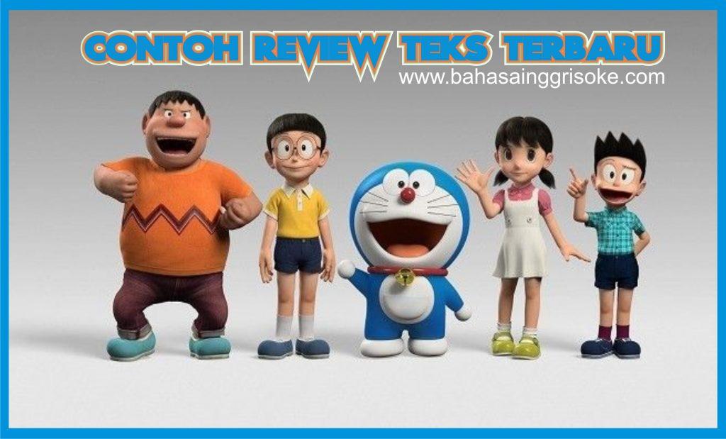 Kumpulan Contoh Review Text Bahasa Inggris Terbaik Dan Tebaru (Stand By Me Doraemon)