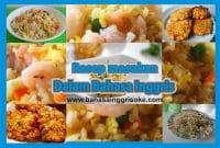 Kumpulan Koleksi Resep Makanan Dalam Bahasa Inggris Terbaru Dan Terlengkap