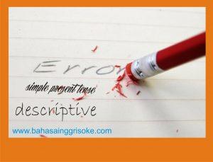 Artikel Bahasa Inggris tentang ERRORS ANALYSIS (results and discussion)