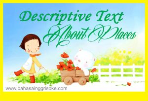 7 Contoh Descriptive Text About Place dan Artinya