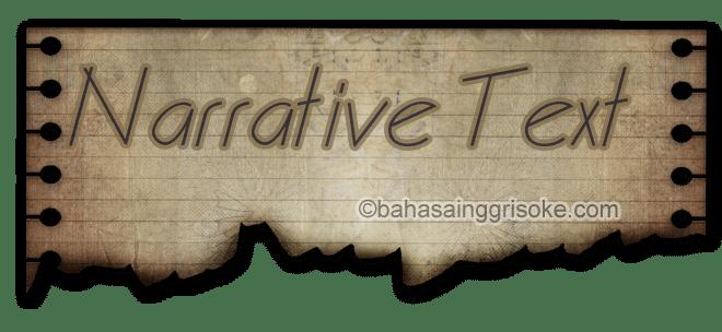 contoh narrative text dalam bahasa inggris dan artinya