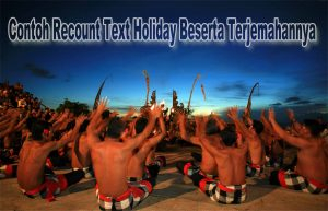 contoh recount text about trip to bali