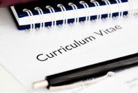 Cara Mudah Menulis Curriculum Vitae Yang Baik dan Benar