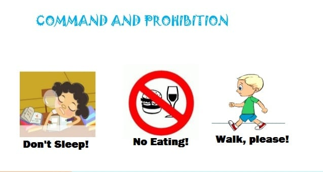 Definitions of Command and Prohibition with example and Dialogue Pengertian Perintah dan Larangan beserta Contoh dan Dialog