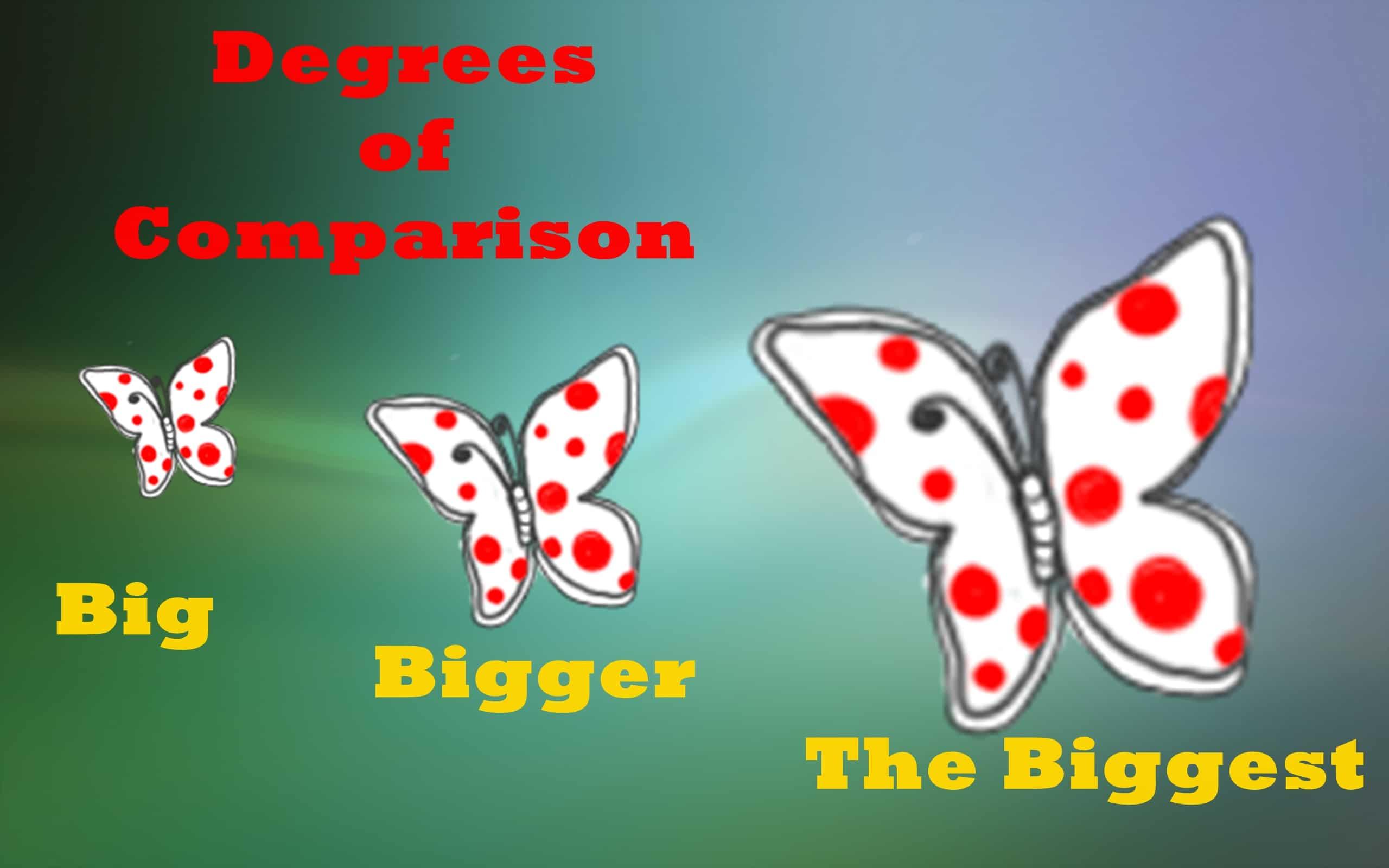Pengertian Lengkap Degrees of Comparison (Tingkat Perbandingan)