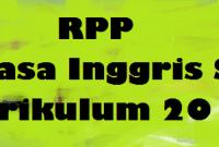 Contoh RPP Bahasa Inggris SMP Kurikulum 2013