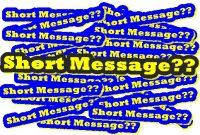 Pengertian dan Contoh Short Message Lengkap Terjemahannya