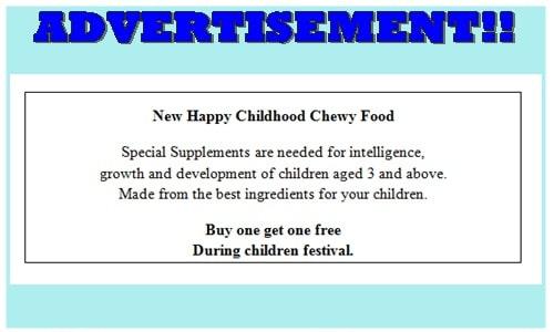 Contoh Soal Advertisement beserta Kunci Jawaban