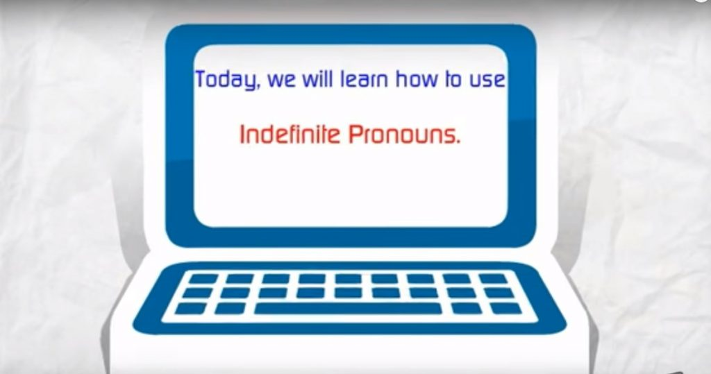 Indefinite Pronoun Quantity