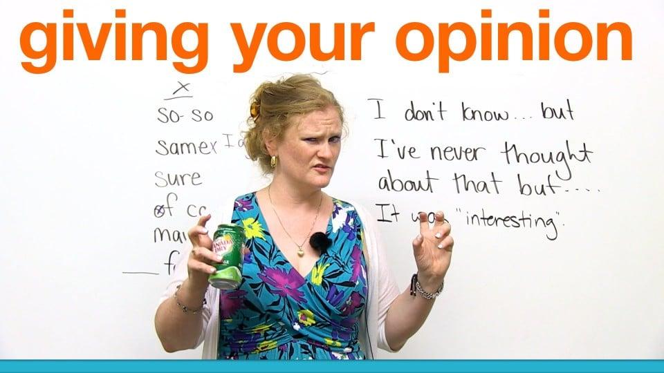 Penjelasan Serta Contoh Respon dan Dialog Asking For Opinion