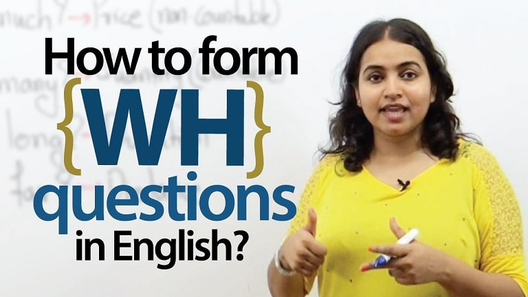 WH Question Bahasa Inggris