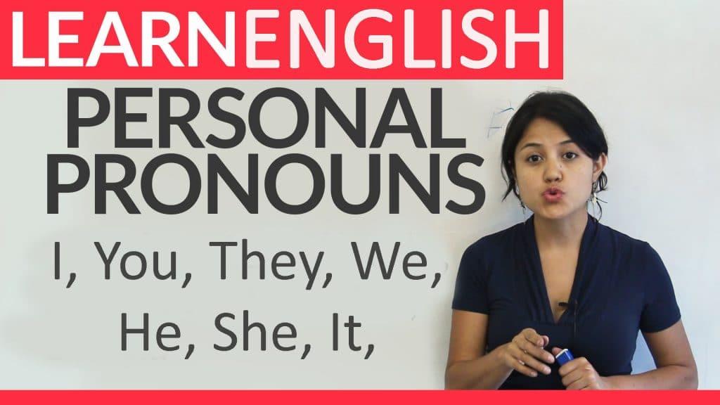 pengertian personal pronoun