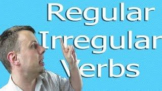 regular irregular verb
