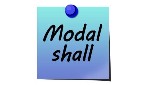 shall modal verb