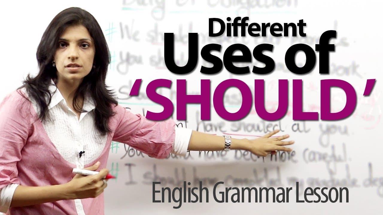 should modal verb