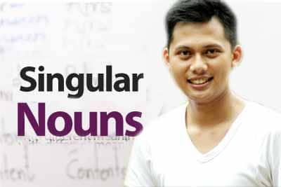 singular noun