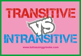 transive intransitive