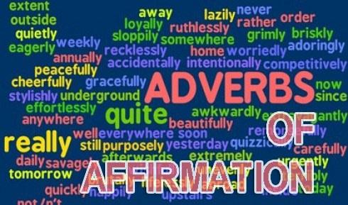 Adverb of affirmation