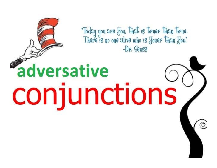 Adversative conjunctions