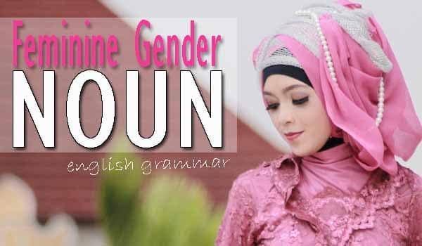 Feminine Gender Noun