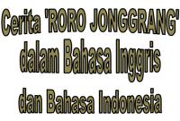 Generic Structure Narrative Text tentang Roro Jonggrang beserta Artinya