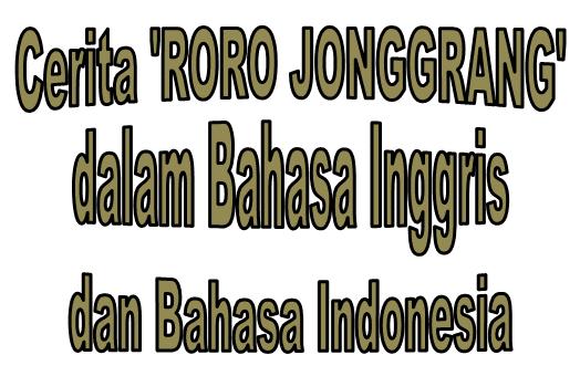 Generic Structure Narrative Text Tentang Roro Jonggrang Beserta