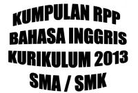 Kumpulan RPP Kurikulum 2013 untuk SMA atau SMK