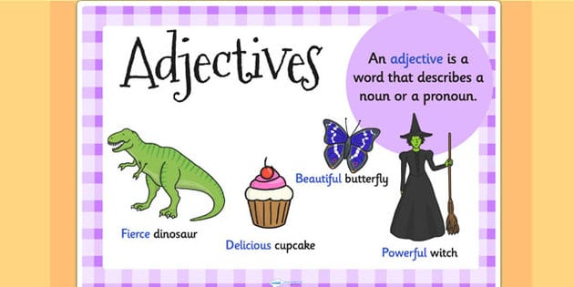 Pengertian 8 Jenis Kata Sifat Beserta Contoh Kalimat
