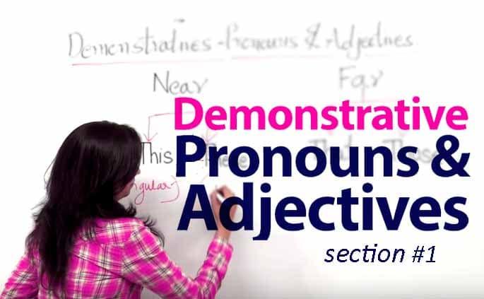 Pengertian Demonstrative Adjective dan Contoh