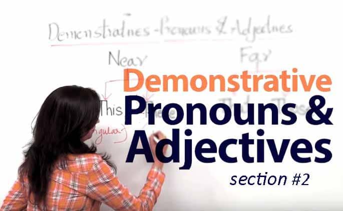 Penjelasan Demonstrative Adjective