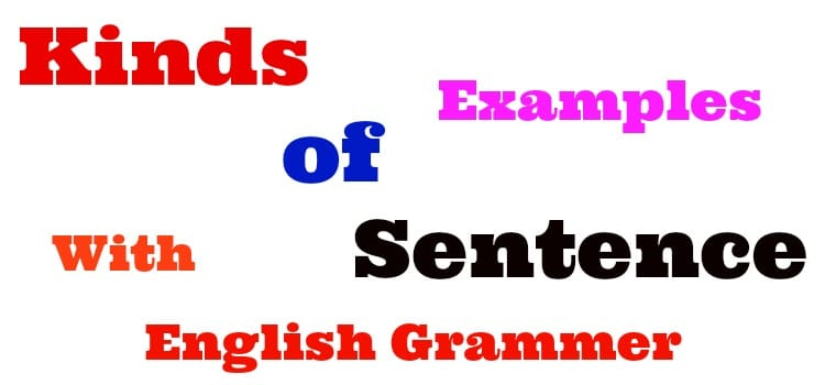 The Kinds of Sentences