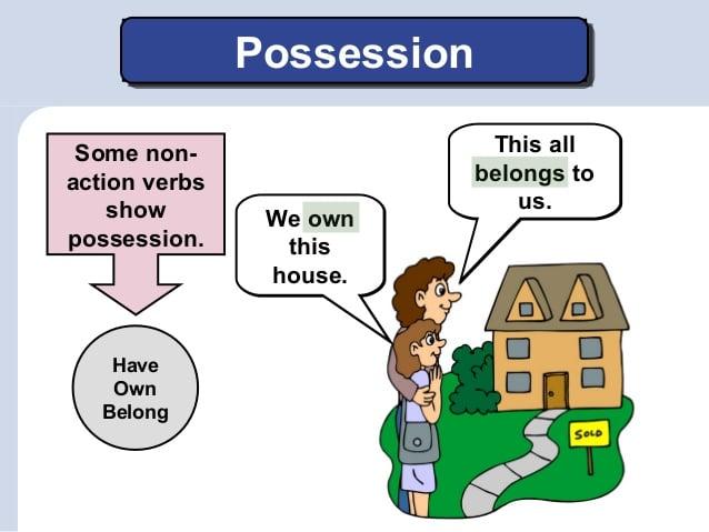 Verb of Possession