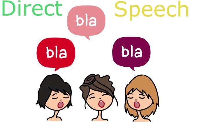 direct speech