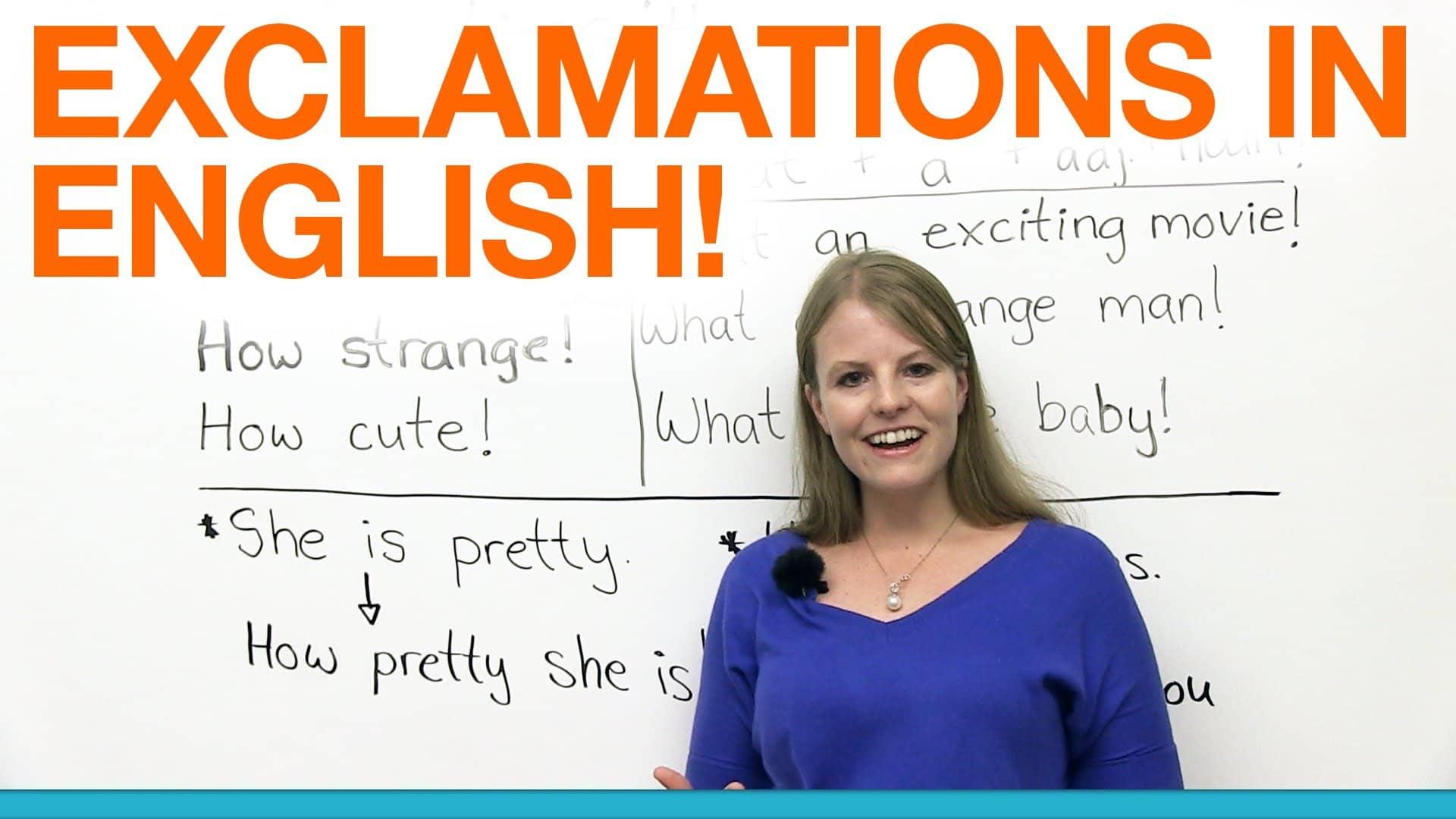 exclamation sentences