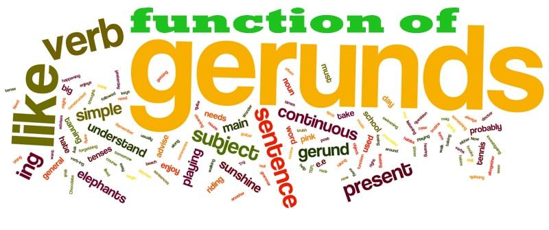 function gerund