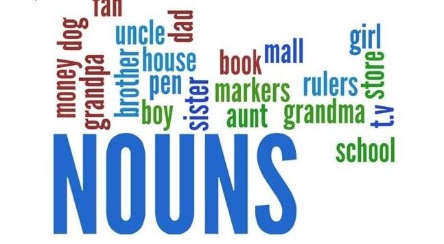 fungsi noun dalam bahasa inggris