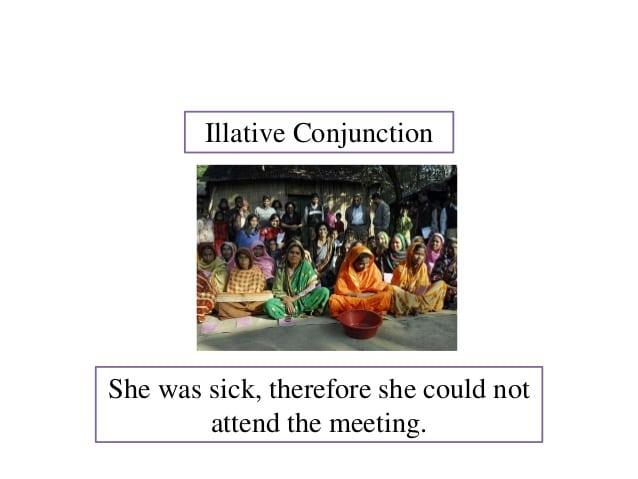 illative conjunction