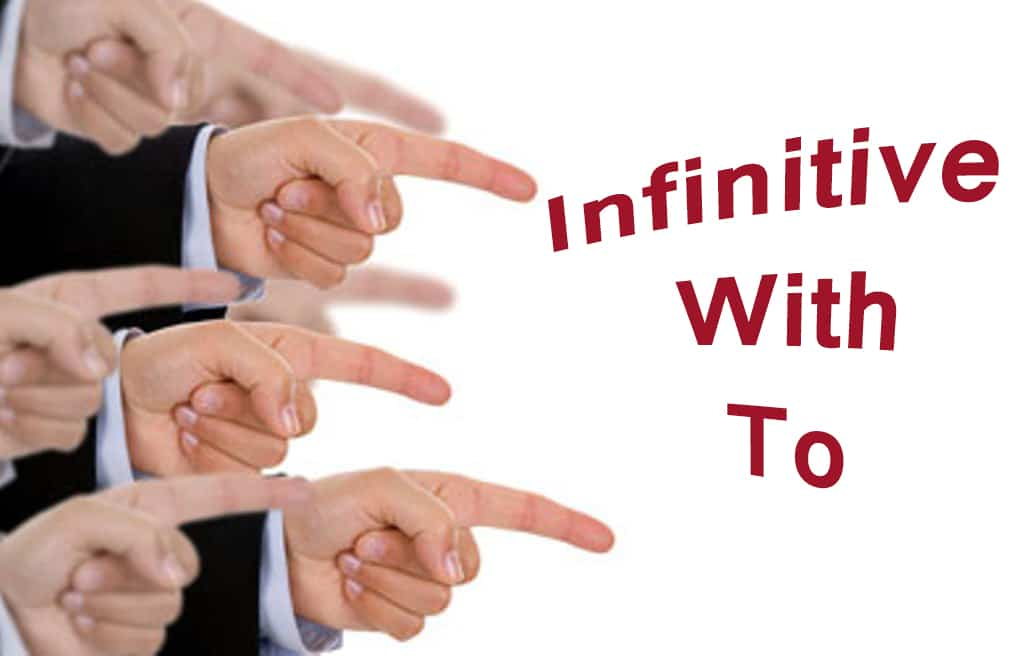 infinitive with to