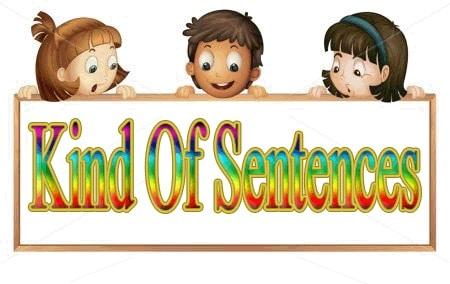 kind of senteces 2