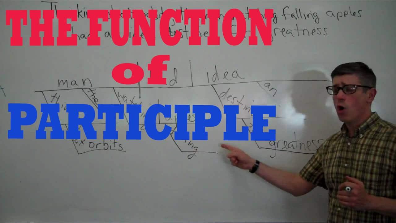 participle function