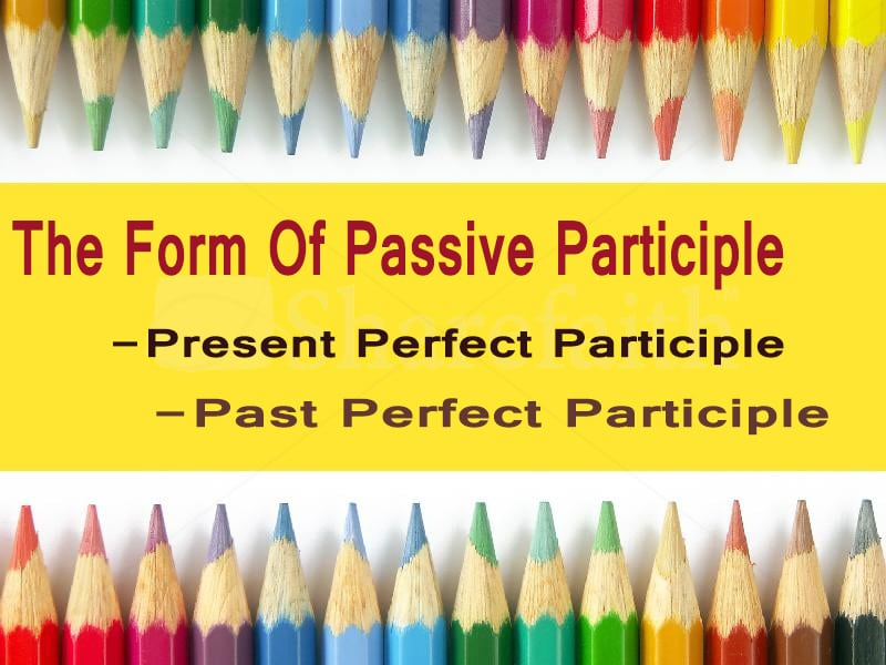 passive participle
