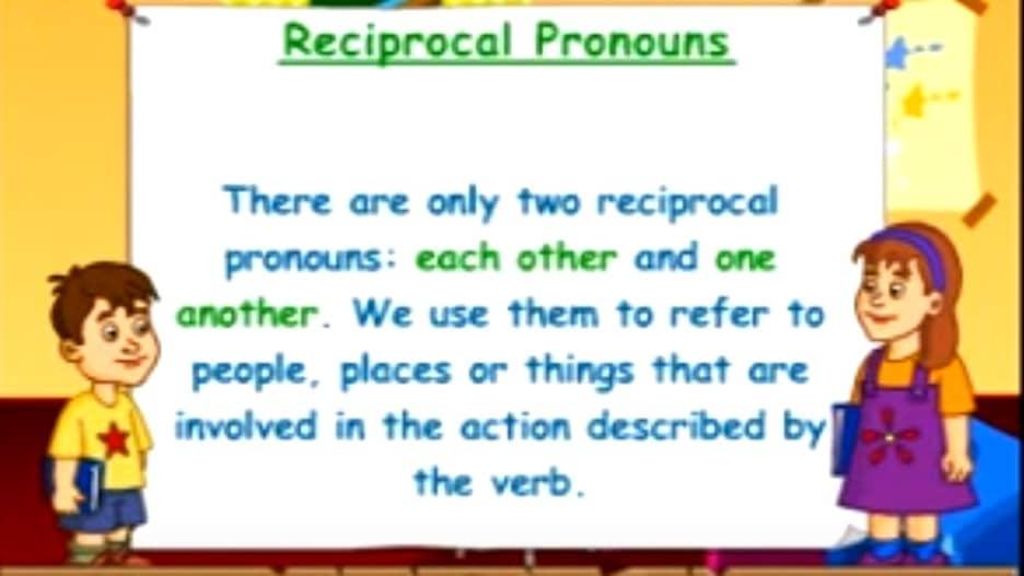 pengertian Reciprocal Pronoun